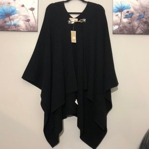 Michael Michael Kors Wool & Cashmere Blend Cape
